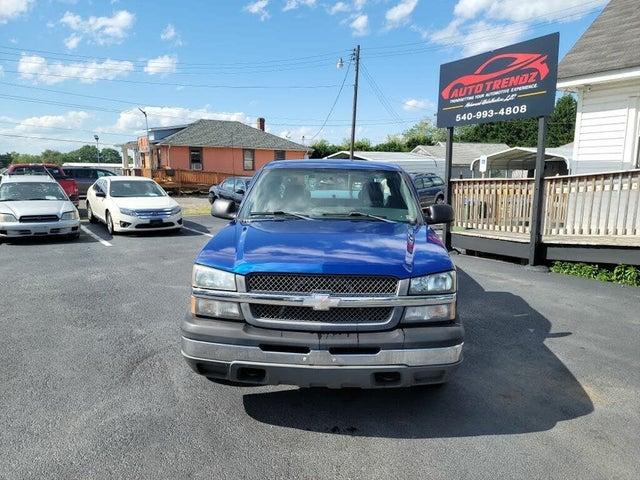 2004 Chevrolet Silverado 1500 Work Truck Extended Cab RWD