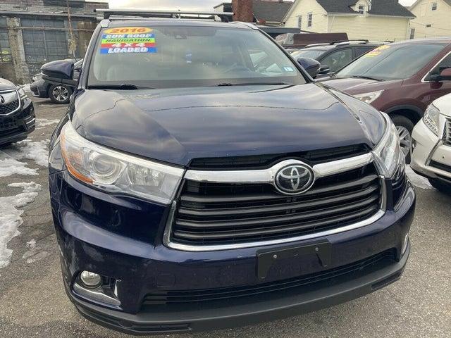 2016 Toyota Highlander Limited Platinum AWD