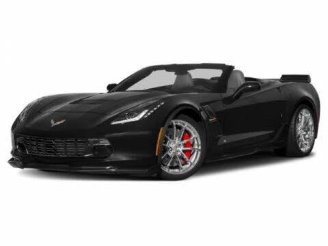 2018 Chevrolet Corvette Grand Sport 3LT Convertible RWD