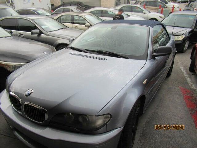 2006 BMW 3 Series 325Ci Convertible RWD