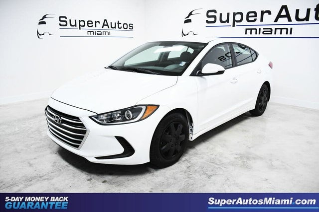 2018 Hyundai Elantra SE Sedan FWD
