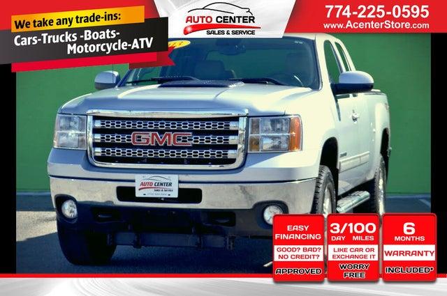 2013 GMC Sierra 2500HD SLT Ext. Cab SB 4WD