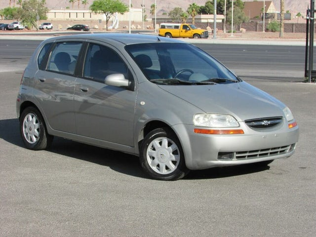 2005 Chevrolet Aveo LS Sedan FWD