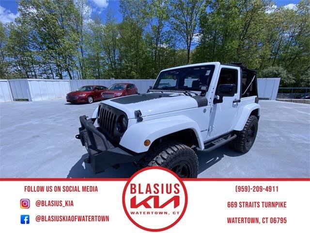 2014 Jeep Wrangler Altitude Edition