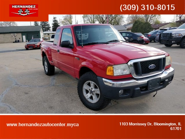2004 Ford Ranger 4 Dr XL 4WD Extended Cab SB