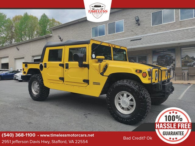 2001 Hummer H1 4 Dr STD Turbodiesel 4WD Convertible