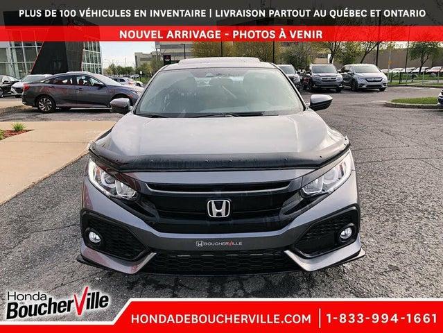 2018 Honda Civic Hatchback Sport FWD with Honda Sensing
