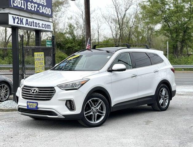 2017 Hyundai Santa Fe SE Ultimate AWD