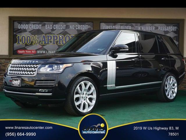 2015 Land Rover Range Rover V8 Supercharged LWB 4WD