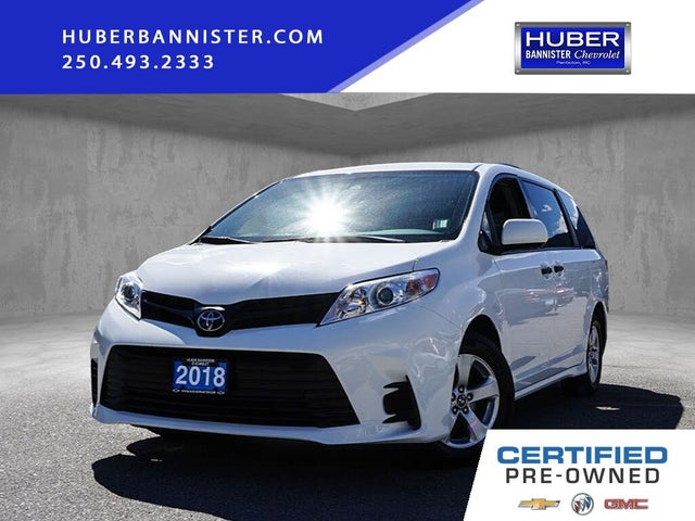 2018 Toyota Sienna LE 7-Passenger FWD with Auto-Access Seat