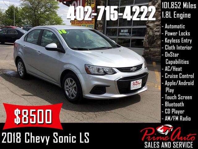 2018 Chevrolet Sonic LS Sedan FWD