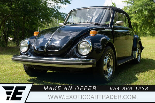 1979 Volkswagen Beetle Cabriolet