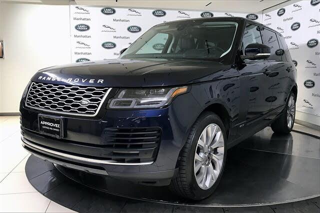 2019 Land Rover Range Rover V8 Supercharged LWB 4WD