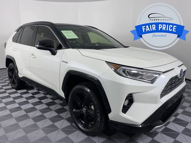 2019 Toyota RAV4 Hybrid XSE AWD