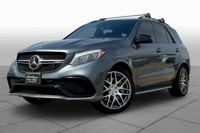 2018 Mercedes-Benz GLE-Class GLE AMG 63 4MATIC