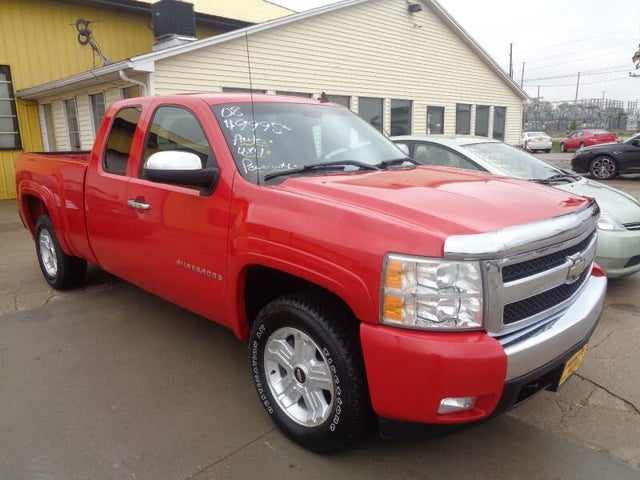 2008 Chevrolet Silverado 1500 Work Truck Extended Cab 4WD
