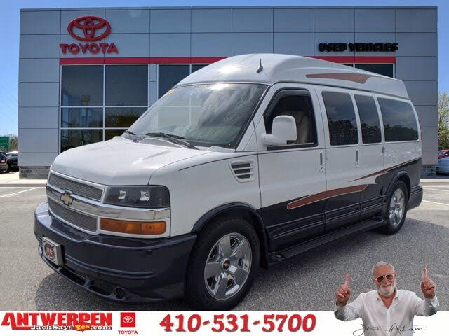 2012 Chevrolet Express Cargo 1500 RWD with Upfitter