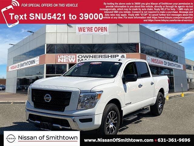 2021 Nissan Titan SV Crew Cab 4WD