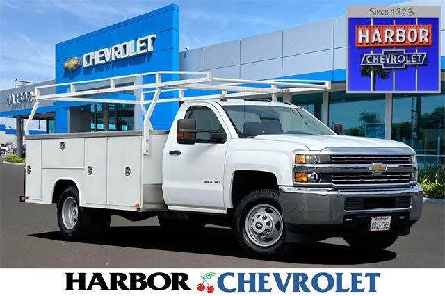 2017 Chevrolet Silverado 3500HD Work Truck Crew Cab RWD
