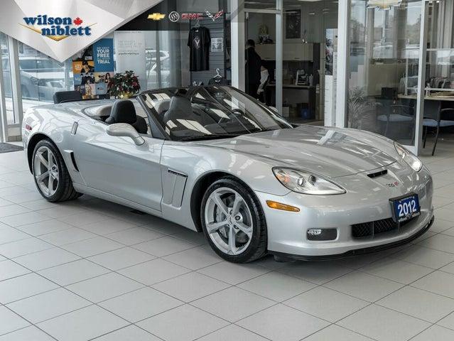 2012 Chevrolet Corvette Z16 Grand Sport 3LT Convertible RWD