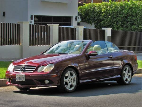 2007 Mercedes-Benz CLK-Class CLK 550 Cabriolet