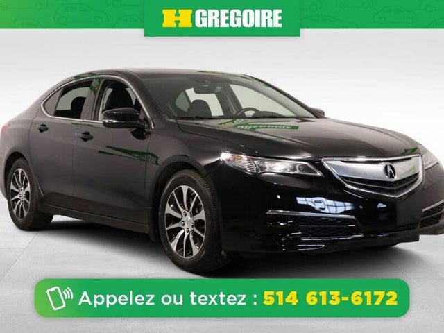 2017 Acura TLX FWD with Technology Package
