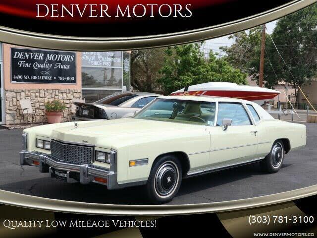 1976 Cadillac Eldorado 2 Door Convertible RWD