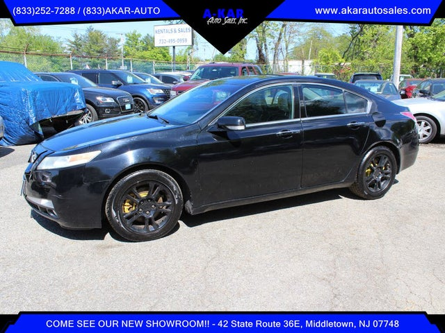 2011 Acura TL FWD with Technology Package and 18-inch Wheels