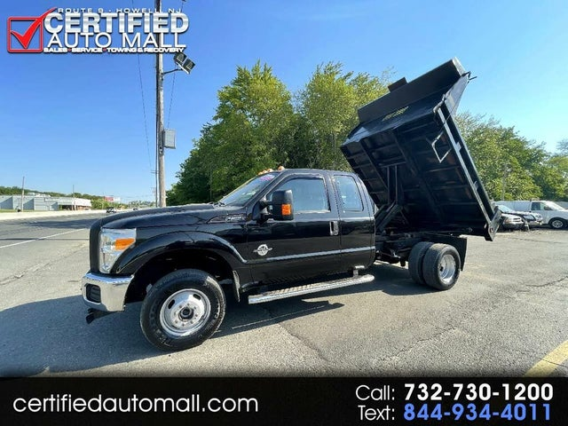2013 Ford F-350 Super Duty Chassis Lariat SuperCab DRW 4WD