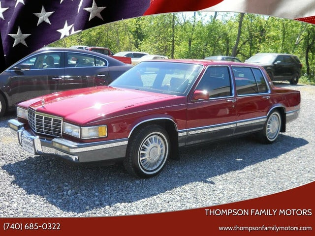1991 Cadillac DeVille Sedan FWD