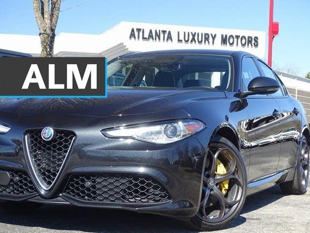 2018 Alfa Romeo Giulia Ti AWD