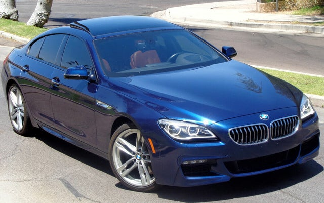 2017 BMW 6 Series 640i Gran Coupe RWD