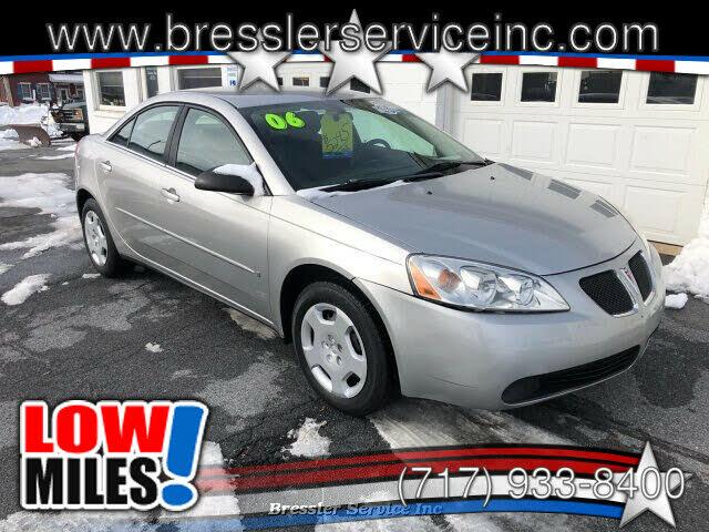 2006 Pontiac G6 Special Value 1SV