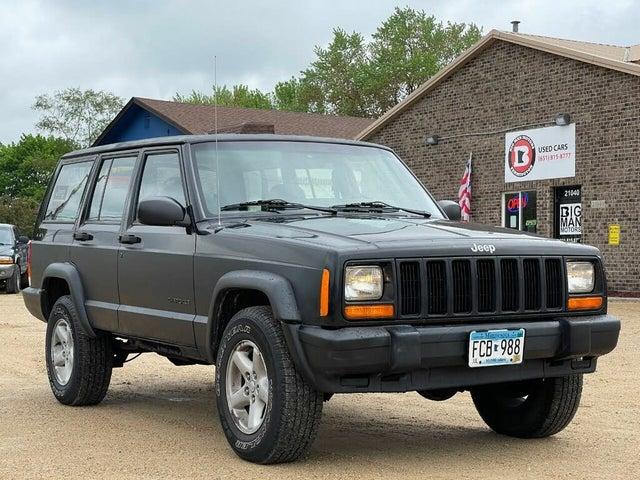 1999 Jeep Cherokee SE 4-Door 4WD