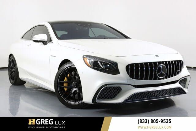 2019 Mercedes-Benz S-Class Coupe S 65 AMG RWD