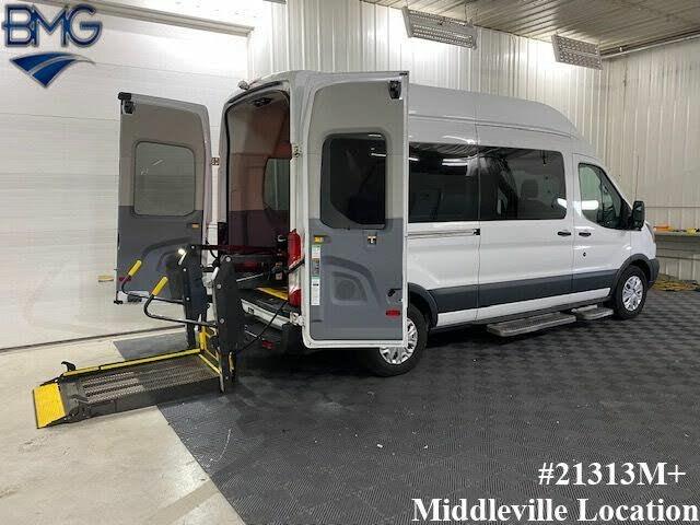 2015 Ford Transit Passenger 350 XL High Roof LWB RWD with Sliding Passenger-Side Door