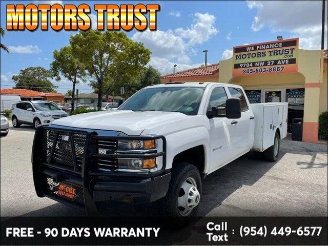 2015 Chevrolet Silverado 3500HD Work Truck Crew Cab LB DRW 4WD