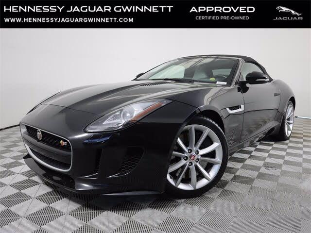 2016 Jaguar F-TYPE S Convertible RWD