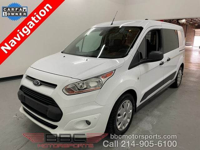 2018 Ford Transit Connect Cargo XLT LWB FWD with Rear Liftgate