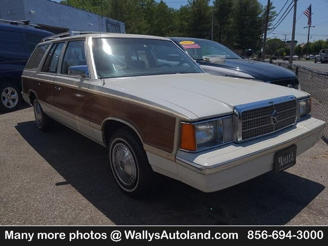 1984 Plymouth Reliant SE Wagon FWD
