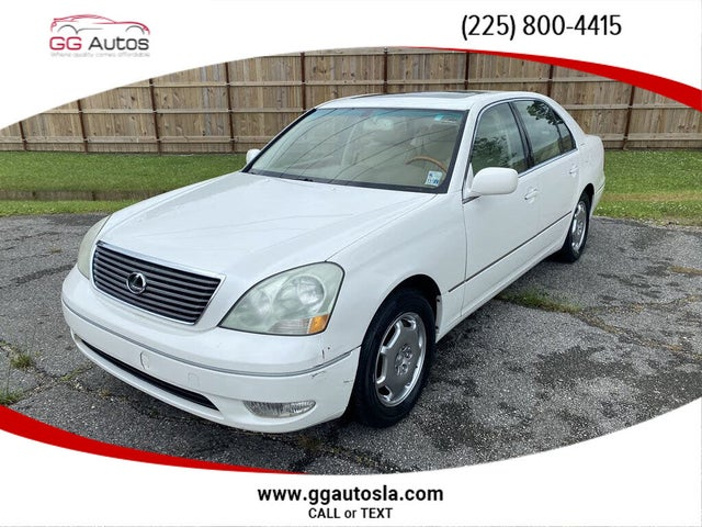 2002 Lexus LS 430 430 RWD