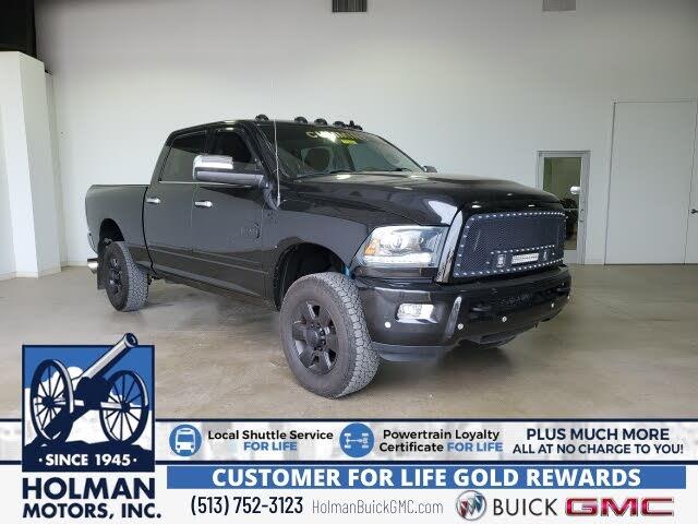 2018 RAM 2500 Laramie Longhorn Crew Cab 4WD
