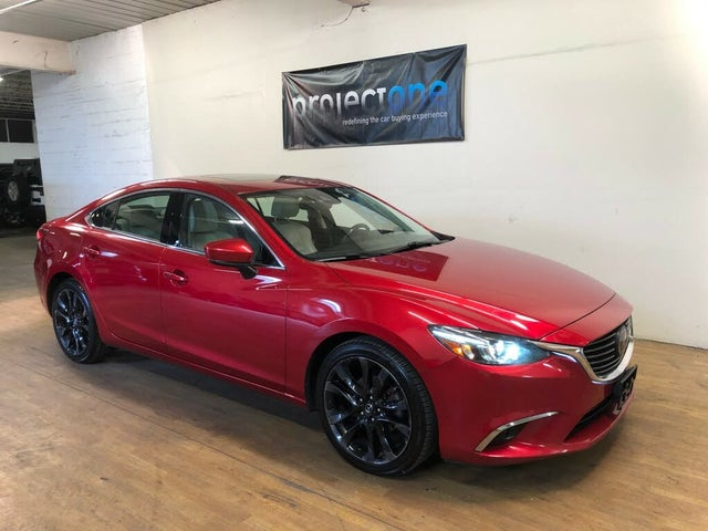2017 Mazda MAZDA6 Grand Touring Sedan FWD