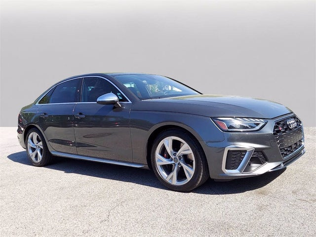 2020 Audi S4 3.0T quattro Premium Plus Sedan AWD