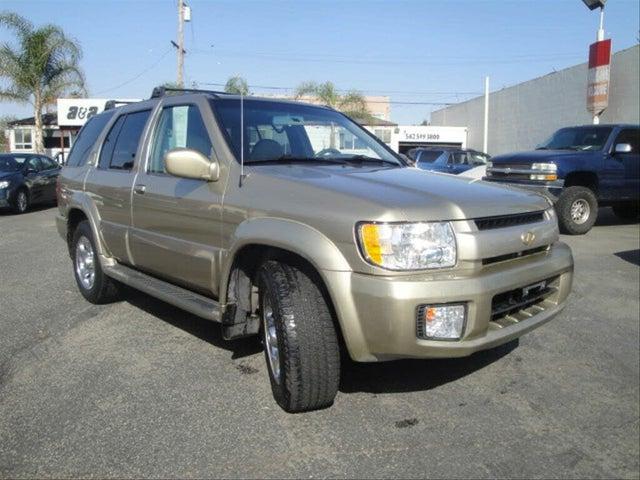 2002 INFINITI QX4 4WD