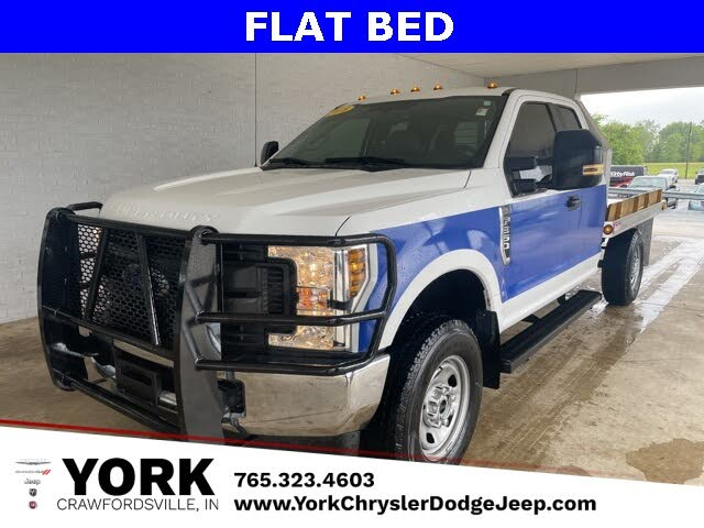 2018 Ford F-350 Super Duty Chassis XL SuperCab 4WD