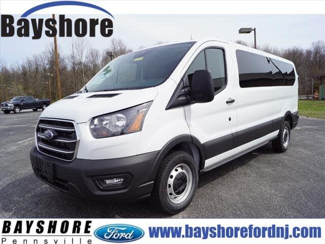 2020 Ford Transit Passenger 350 XL Low Roof LWB RWD with Sliding Passenger-Side Door