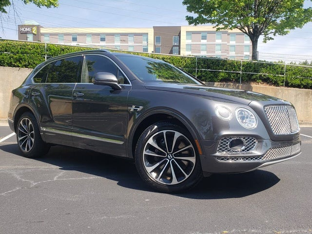 2018 Bentley Bentayga W12 Signature Edition AWD