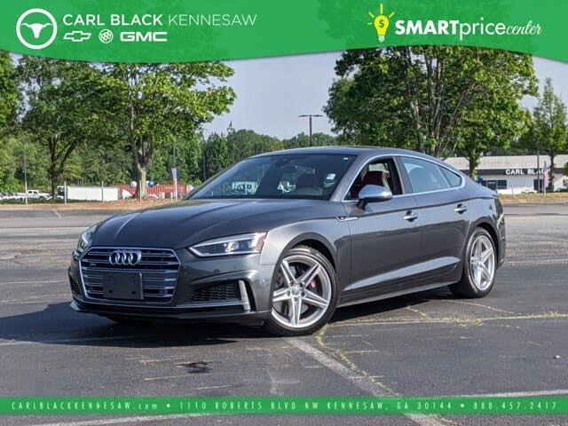 2018 Audi S5 Sportback 3.0T quattro Premium Plus AWD