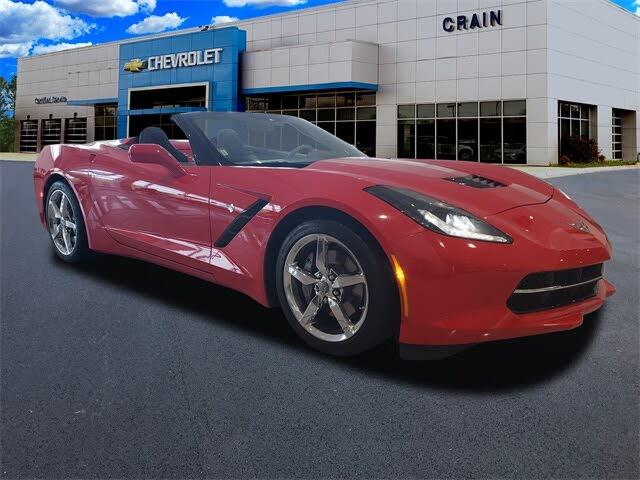 2015 Chevrolet Corvette Stingray 3LT Convertible RWD